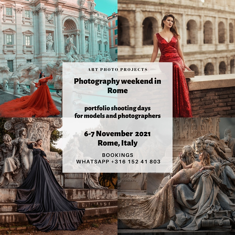 Rome, Italian dreamy photography weekend, 6 November