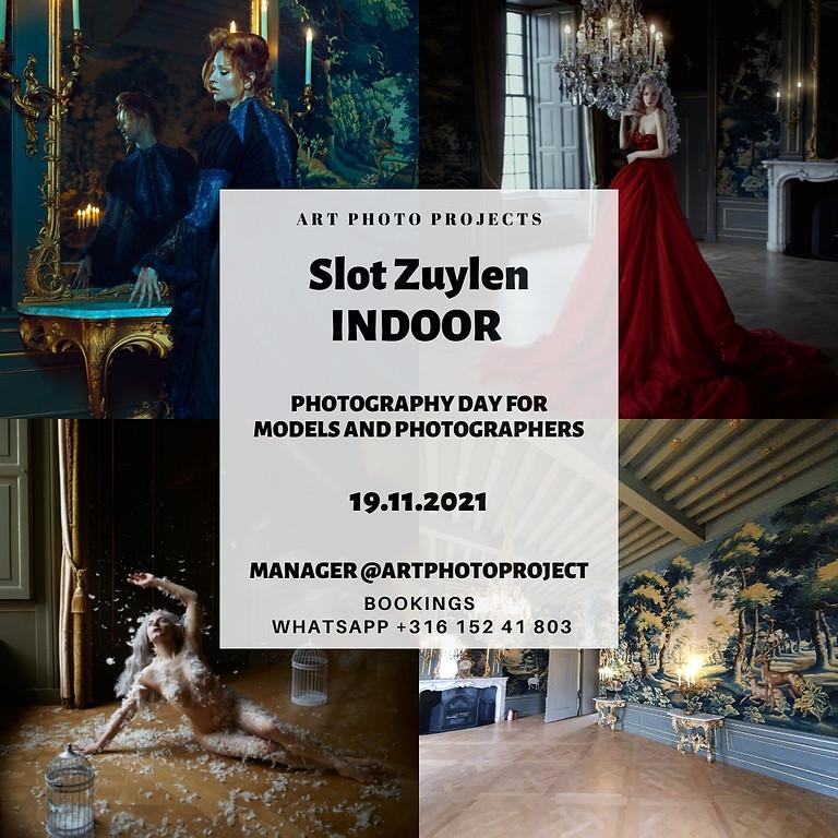 Slot Zuylen castle portfolio shooting day (INDOOR)