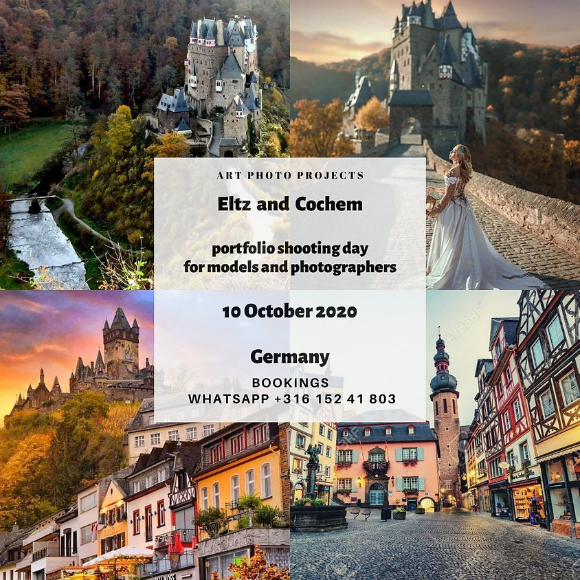 Eltz and Cochem castles portfolio shooting day, Germany