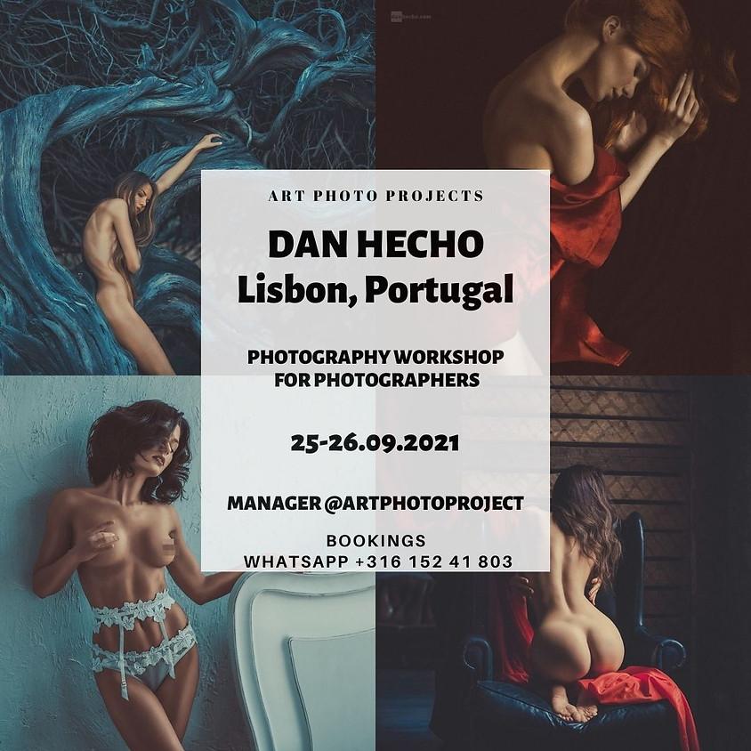 Dan Hecho photography workshop in Lisbon, Portugal (artnude)