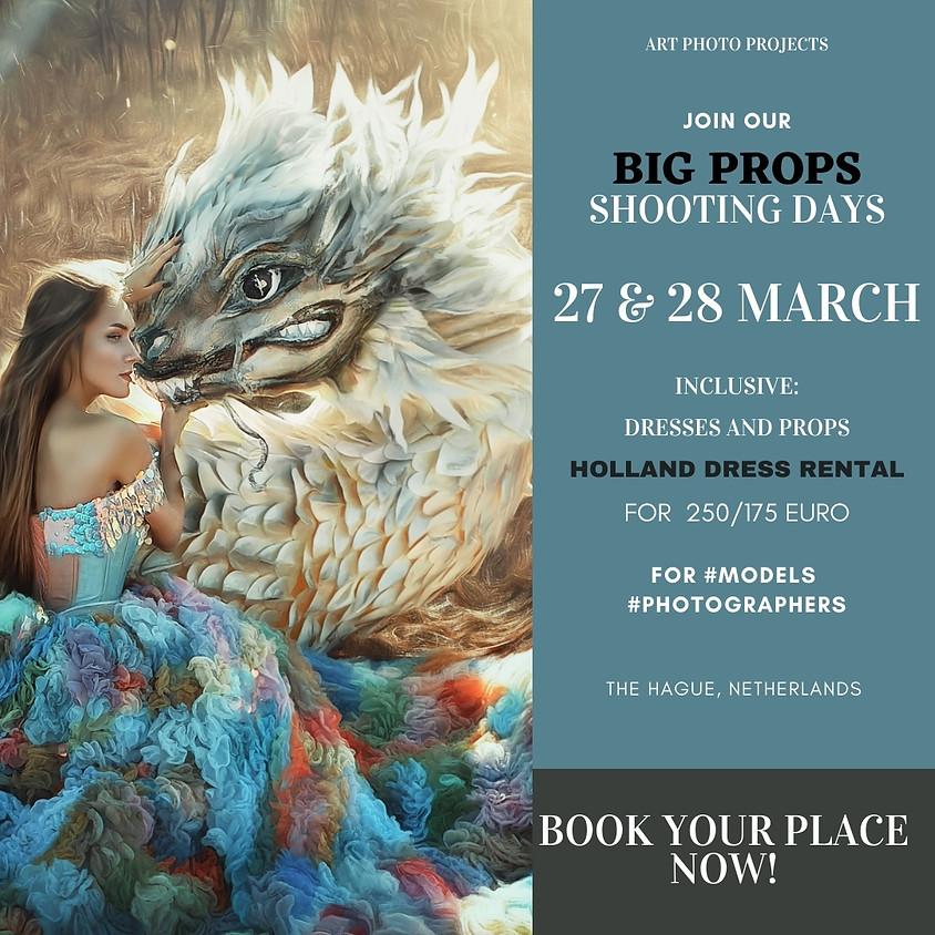 BIG props fantasy portfolio shooting days