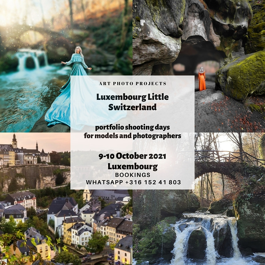 Luxembourg Little Switzerland dreamy photography tour 9 October