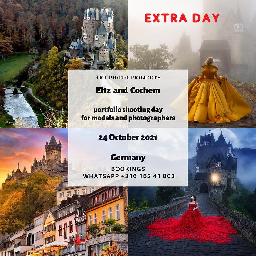 Eltz and Cochem castles portfolio shooting day, Germany EXTRA DAY
