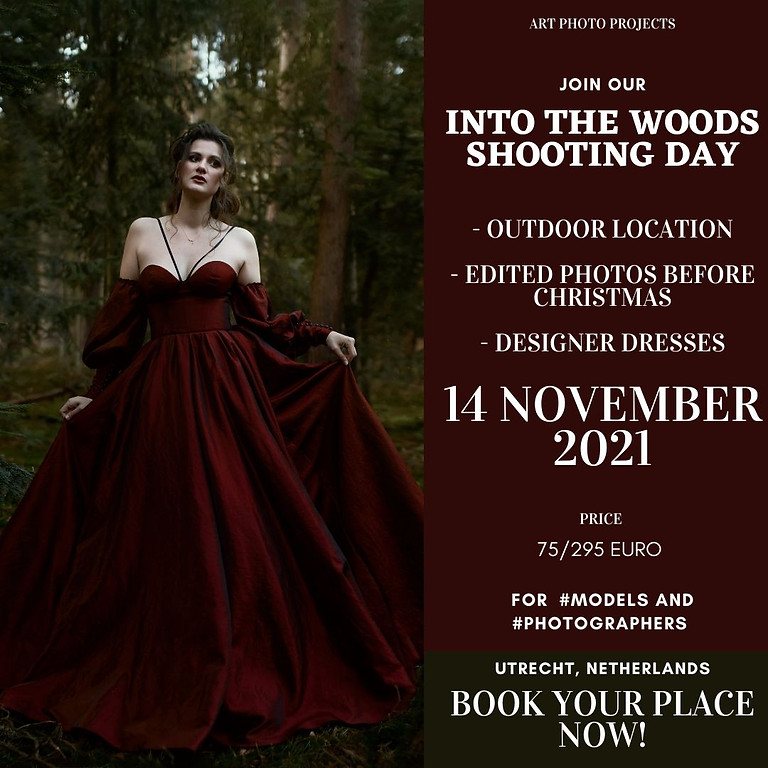 Into the woods shooting day