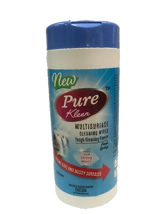 Pure Kleen Multisurface Cleaning Wipes