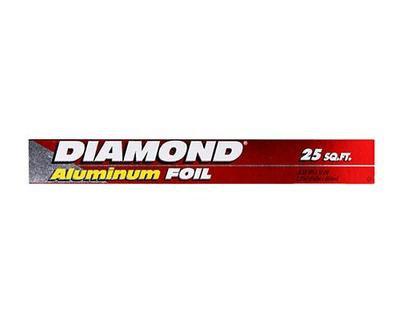 Diamond Foil-25 Sq Ft