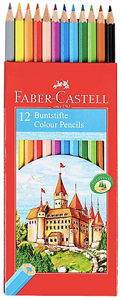 Faber Castell Colored Pencils-12 Pack