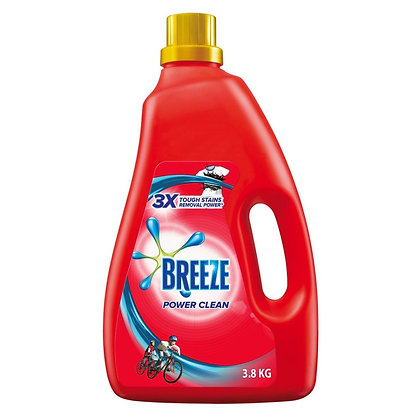 Breeze Power Clean Liquid Laundry