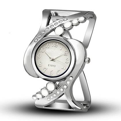 Cuff Watch with Rhinestone For Women