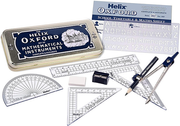 Oxford Mathematical Instrument Set