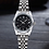 Thumbnail: WLISH® Unisex Silver Waterproof Watch
