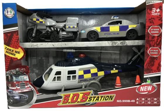 S.O.S Station Police Set