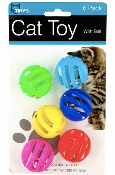 Ball with Bell Cat Toy