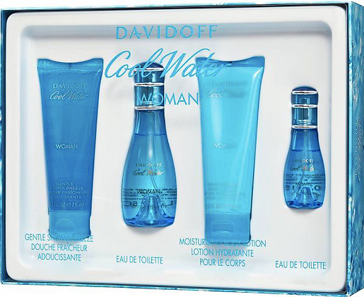 Cool Water by Davidoff for Women Set