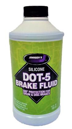 Johnsen's Silicone DOT-5 Brake Fluid