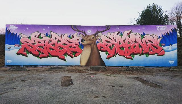 A Serre-lès-Sapins .jpg.jpg.jpg Les cerfs, ça peint