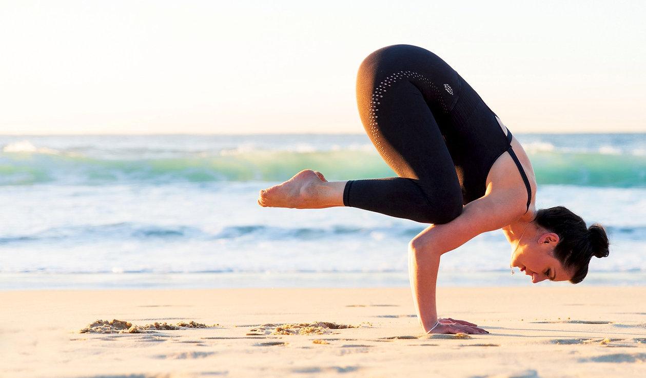 crow pose by um yoga