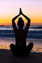 Easy Pose by UM Yoga