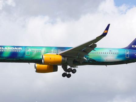 Story Map-Flugfloti Icelandair