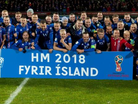 Story Map - Ísland á HM 2018