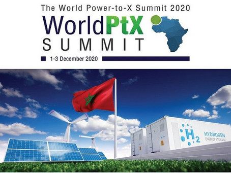 AHP at World PtX Summit 2020 in Morocco