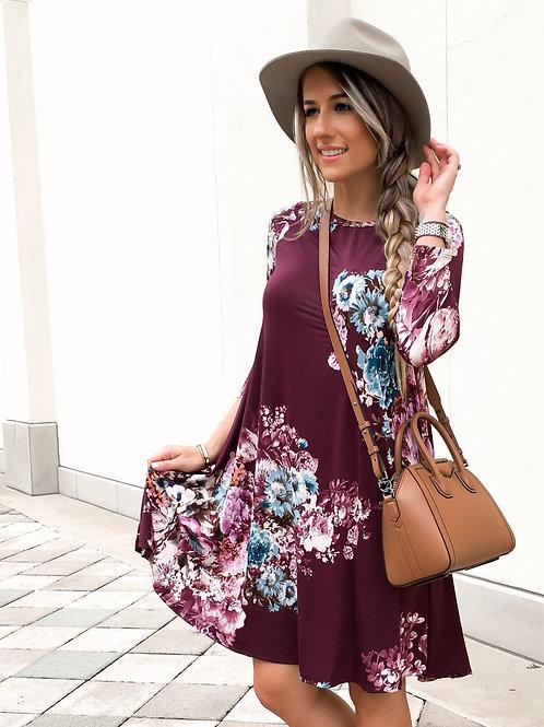 VALENCIA TUNIC DRESS