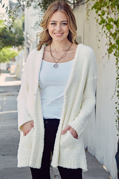 CLAIRE OPEN SWEATER CARDIGAN