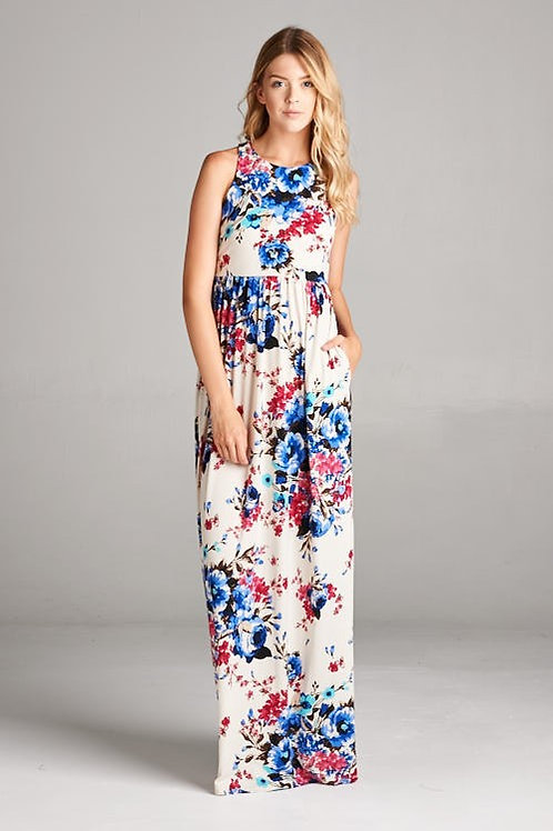 THE FLORAL MAXI DRESS