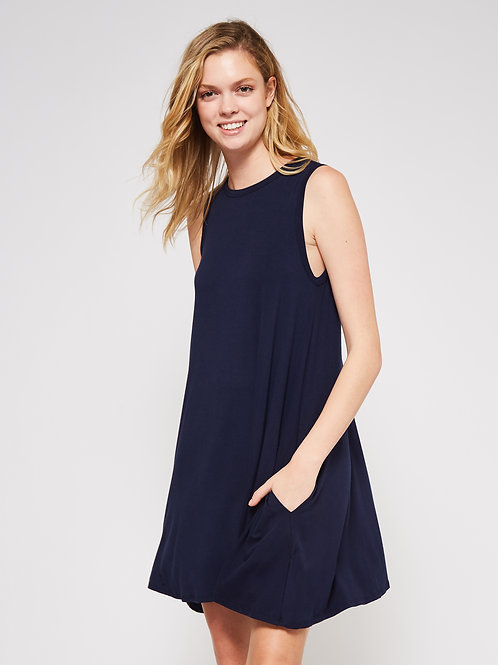 SLEVEELESS TUNIC DRESS