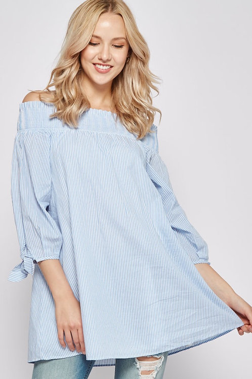 LUCIA OFF-SHOULDER DRESS