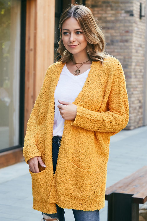 POPCORN POCKET CARDIGAN