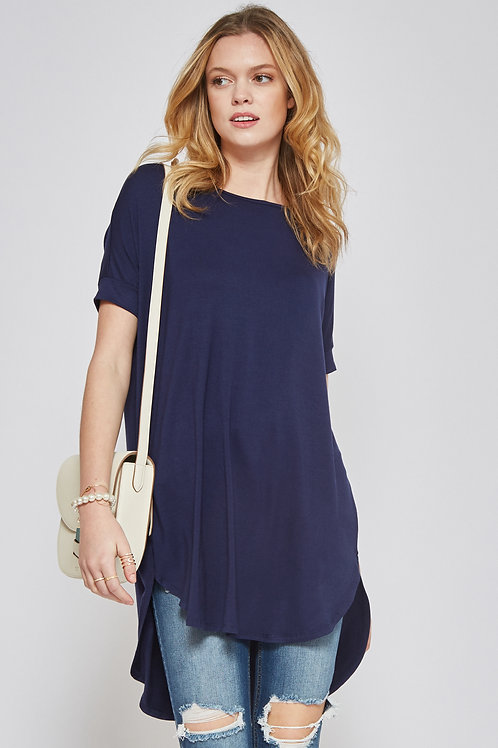 HI-LOW TUNIC TOP