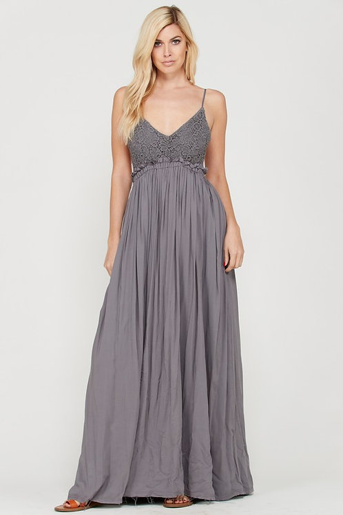 FAIRY LACEY MAXI DRESS