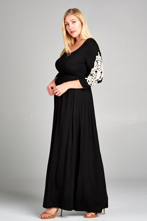 JOANNE CROCHET MAXI DRESS