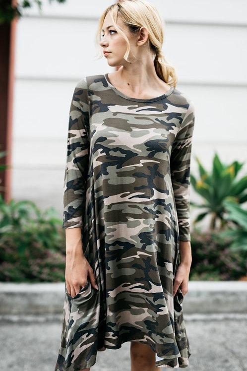 ARMY TUNIC DRESS