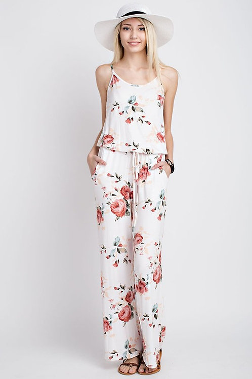 ROSE GARDEN JUMPSUIT