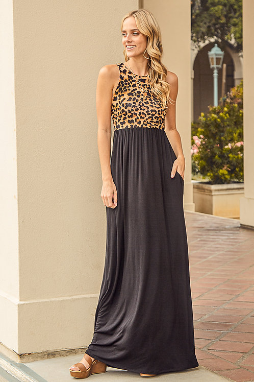 SAFARI JARDIN MAXI DRESS