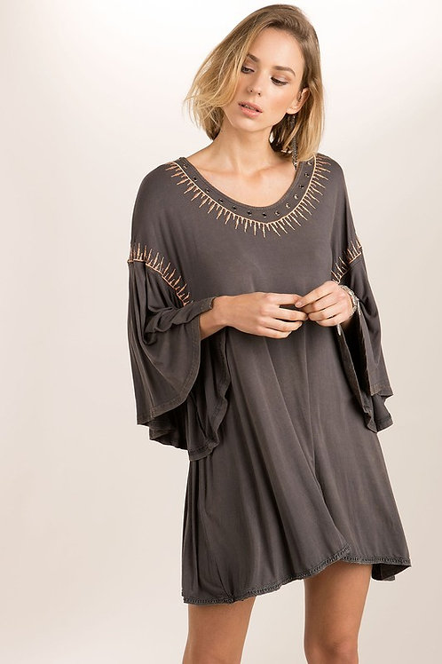 BOHO VIBES TUNIC DRESS