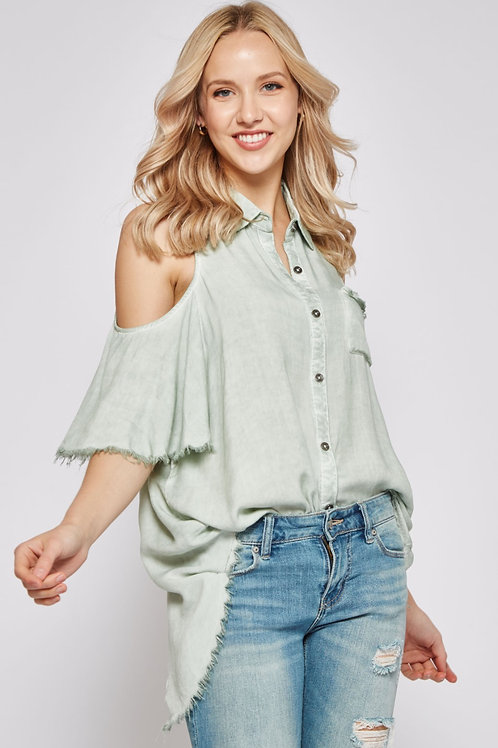 MIA OPEN SHOULDER TOP