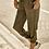 Thumbnail: OLIVE ELASTIC WAIST PANTS