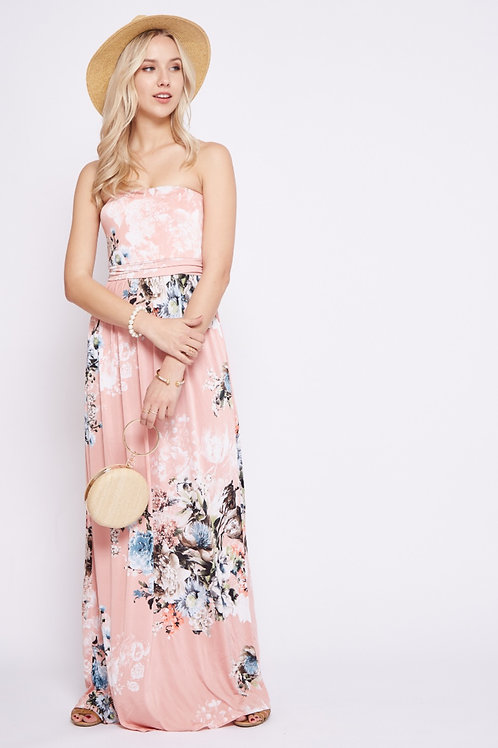 ALARA STRAPLESS DRESS