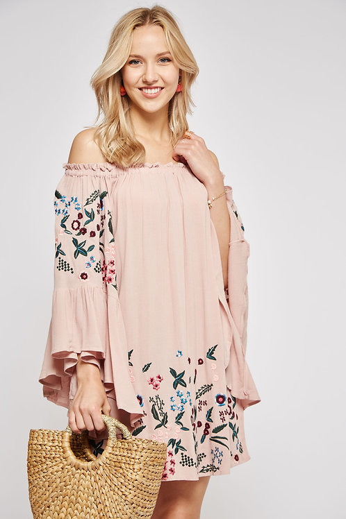 EZRA OFF-SHOULDER DRESS