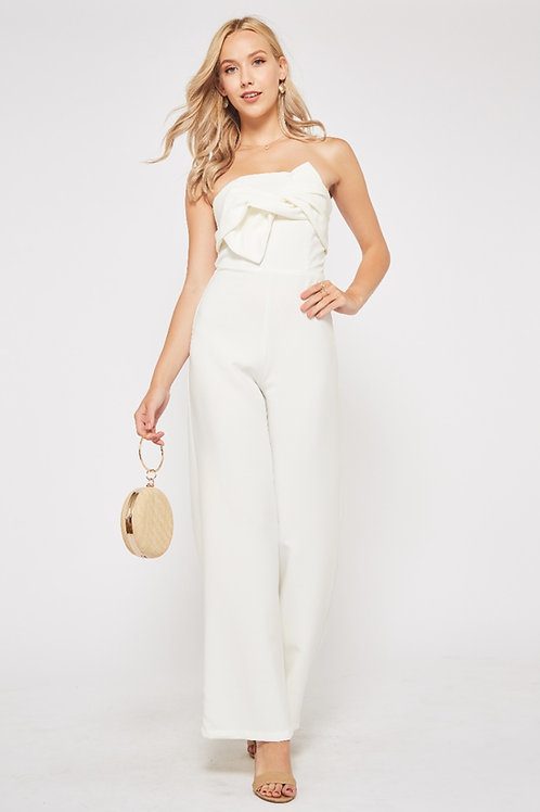 TWISTED KNOT JUMPSUIT