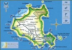 Bedarra island map