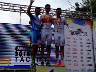 Laureano Rosas, medalla de plata en la CRI del Panamericano de ruta de Táchira, en Venezuela y grand