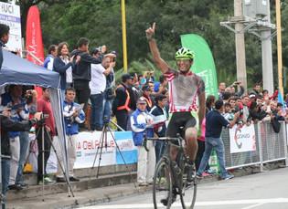 Mauro Richeze se consagró campeón de ruta Élite en Catamarca