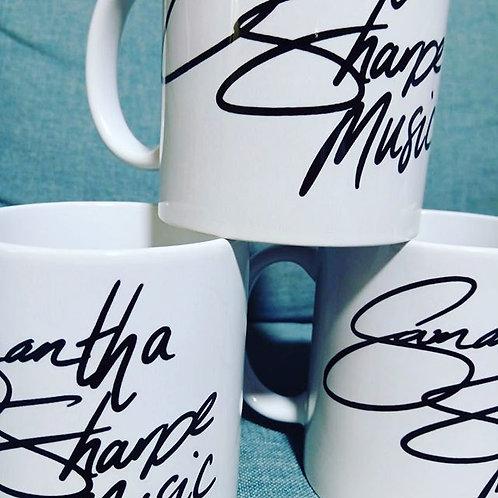 Samantha Sharpe Music Coffee Mug