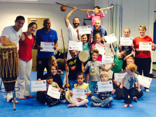 Kids and Parents Capoeira Course - 1 March 2015