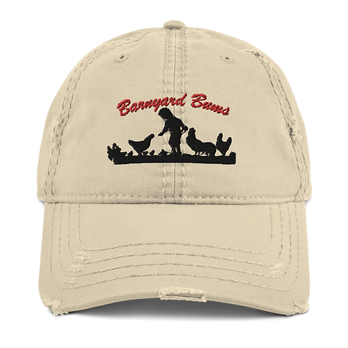 Barnyard Bums Distressed Hat