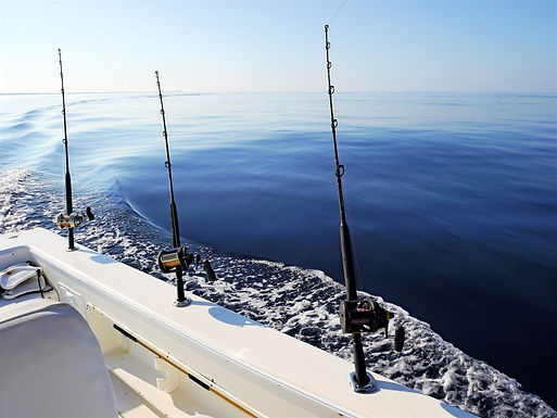 offshore sport fishing rods in grand turk from charter sport fishing boat